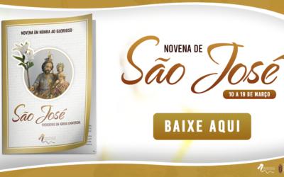 Baixe a Novena de São José e reze com a sua família!